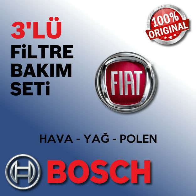 Fiat Palio 1.4 Bosch Filtre Bakım Seti 1998-2001 resmi
