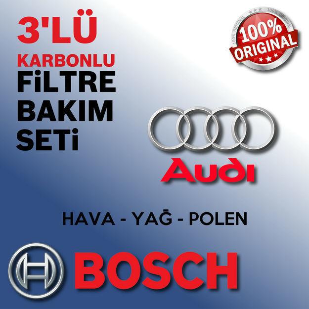 Audi A4 2.0 Tdi Bosch Filtre Bakım Seti B8 2009-2012 resmi