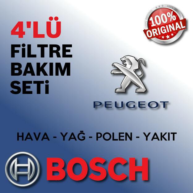 Peugeot 206 1.6 Bosch Filtre Bakım Seti 1998-2007 resmi