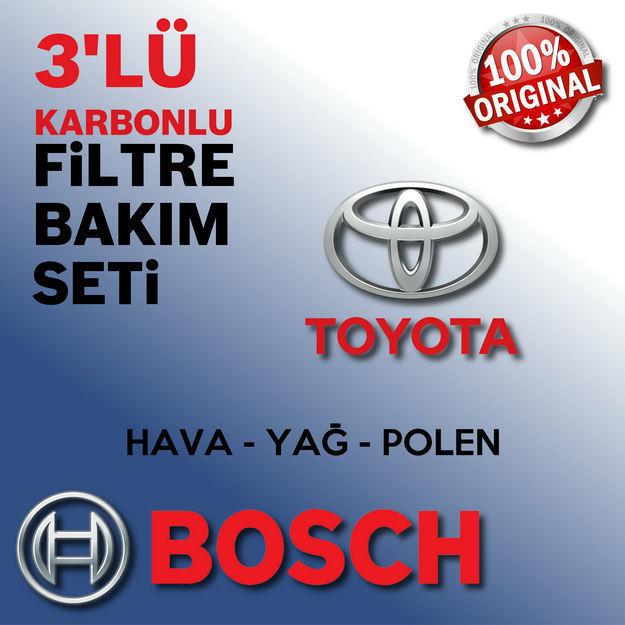 Toyota Yaris 1.3 16v. Bosch Filtre Bakım Seti 2006-2009 resmi