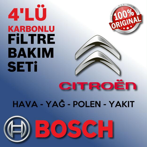 Citroen C4 Cactus 1.6 E-hdi Bosch Filtre Bakım Seti 2014-2017 resmi