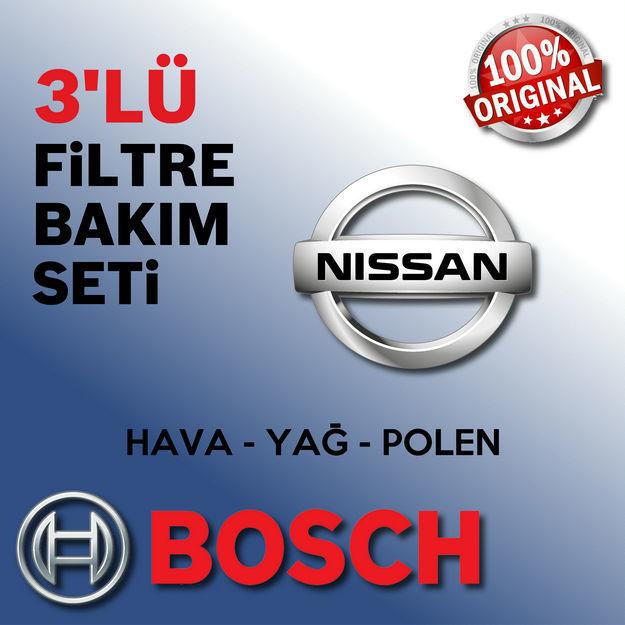 Nissan Micra 1.5 Dci Bosch Filtre Bakım Seti K12 2004-2010 resmi