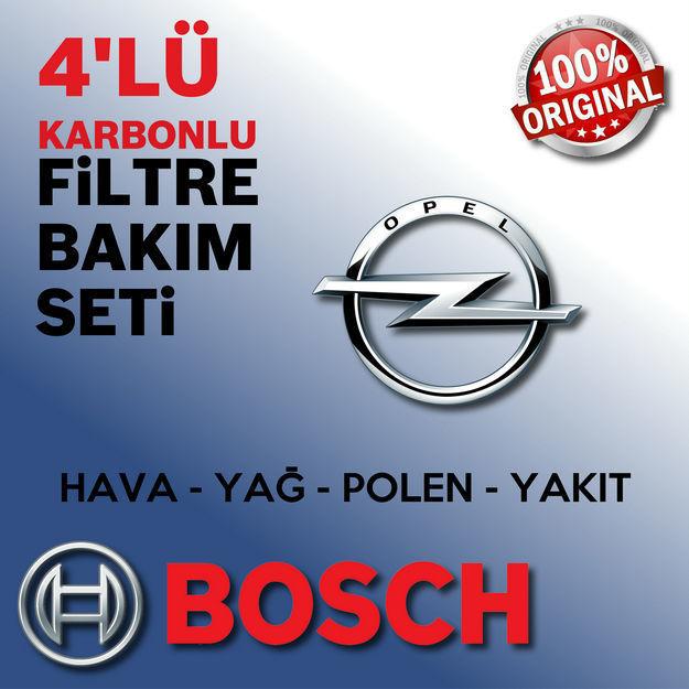 Opel Astra J 1.6 Cdti Bosch Filtre Bakım Seti 2014-2017 resmi