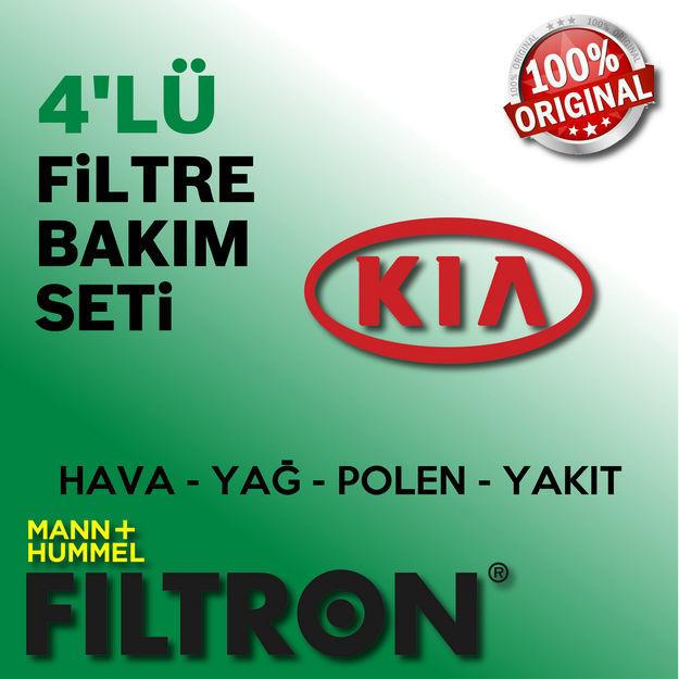Kia Rio 1.5 Crdi Filtron Filtre Bakım Seti 2005-2011 resmi