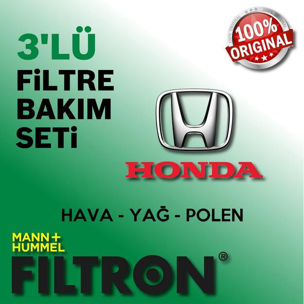 Honda Jazz 1.4 Filtron Filtre Bakım Seti 2009-2014 L13z resmi