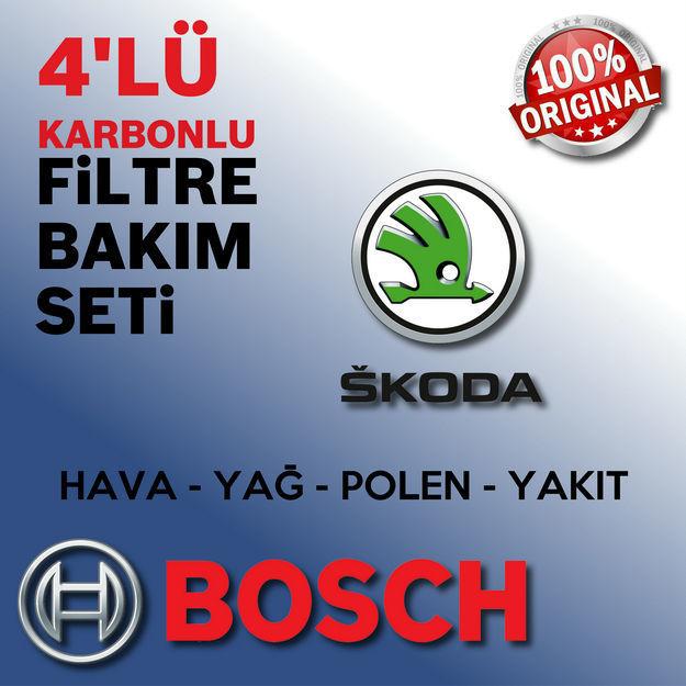 Skoda Fabia 1.4 Tdi Bosch Filtre Bakım Seti 2003-2008 resmi