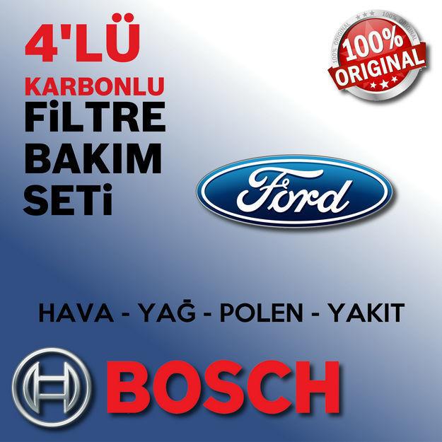 Ford Focus 1.6 Tdcı Bosch Filtre Bakım Seti E5 2011-2015 resmi