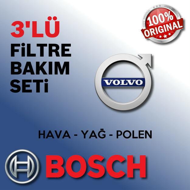 Volvo C30 1.6d Bosch Filtre Bakım Seti 2007-2012 resmi