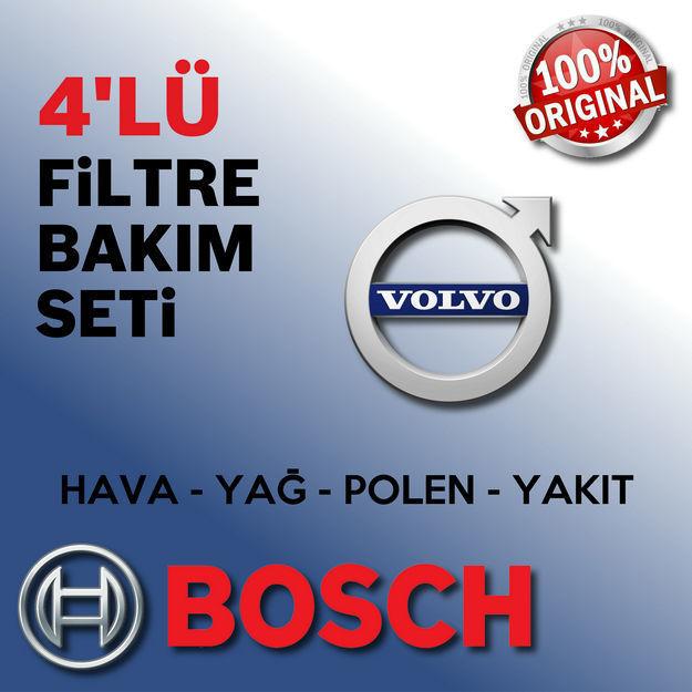 Volvo S60 2.0 Dizel Bosch Filtre Bakım Seti 2011-2014 resmi