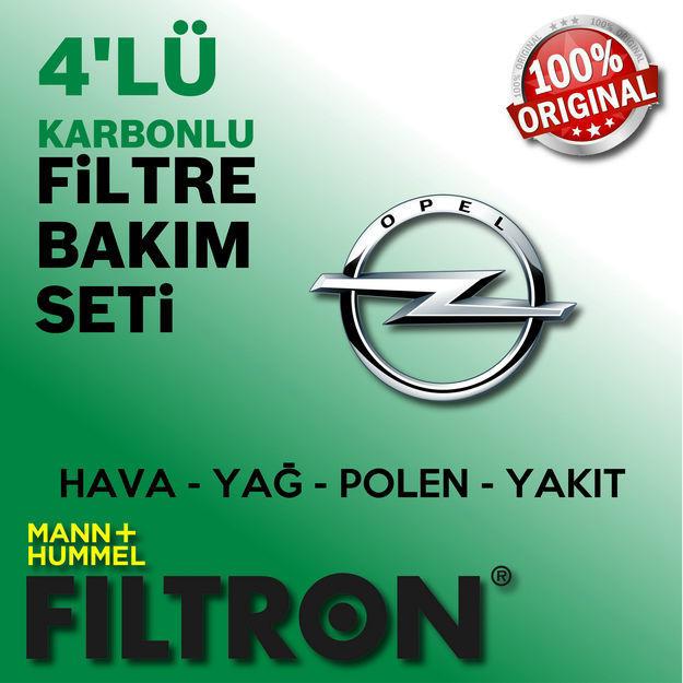 Opel Mokka 1.6 Cdti Filtron Filtre Bakım Seti 2015-2017 resmi