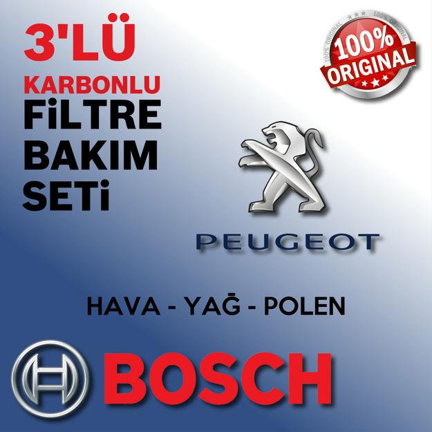 Peugeot 5008 1.6 Hdi Bosch Filtre Bakım Seti 2010-2012 resmi