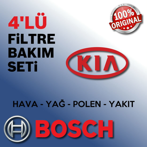 Kia Pro Ceed 1.6 Crdi Bosch Filtre Bakım Seti 2008-2013 resmi